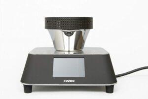Calentador con pantalla tactil para cafetera de sifón