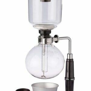 Cafetera sifón con capacidad 360 ml.