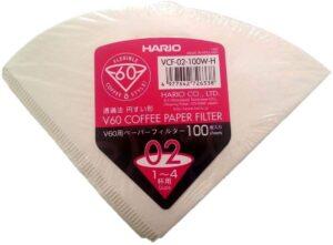 Filtros de café Hario V60 tamaño 02