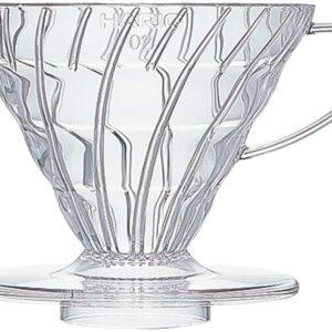 Gotero de plástico transparente 02 para V60