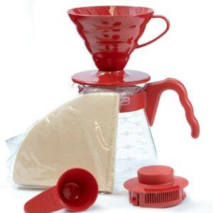 Set para realizar café por goteo