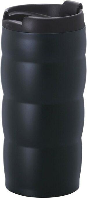 Vaso térmico de acero inoxidable de color negro
